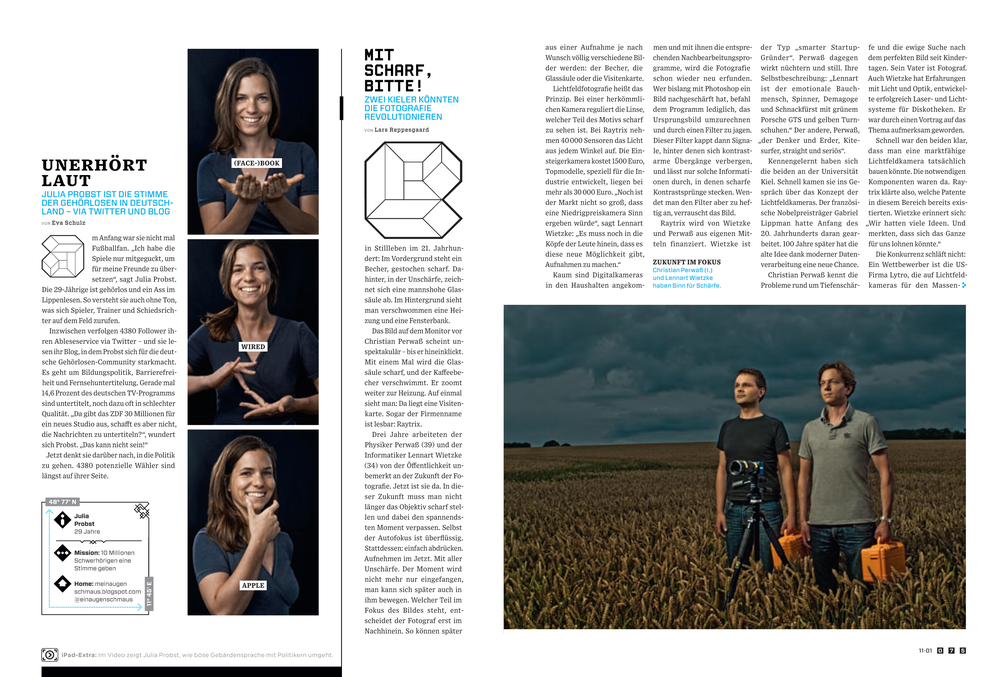 Wired Director of Photography — Alisa Evdokimov
