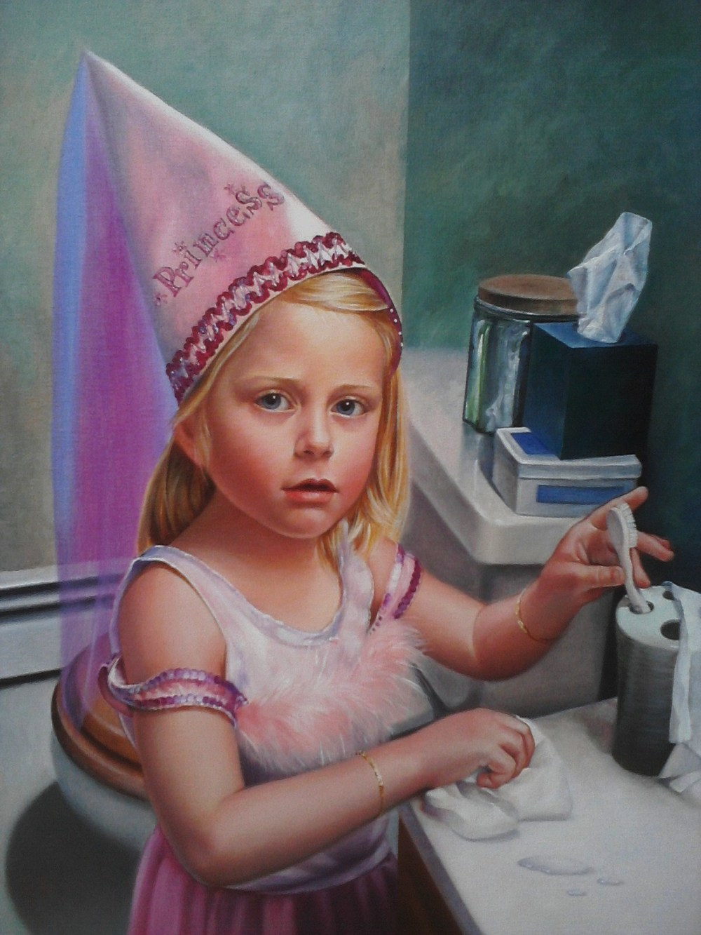 """PRINCESS LEAH"", 24 x 36, Oil"