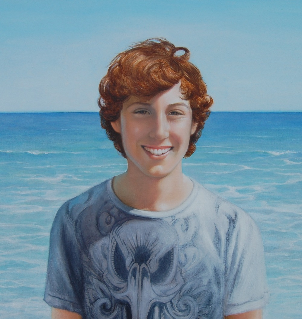 """KEEVYN, VENICE BEACH"", 24 x 36, Oil"