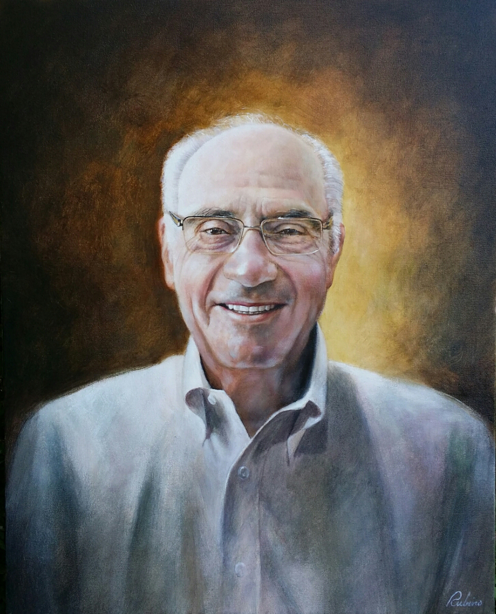 """Mel Marks"", Marks Collection, 24 x 30, oil"