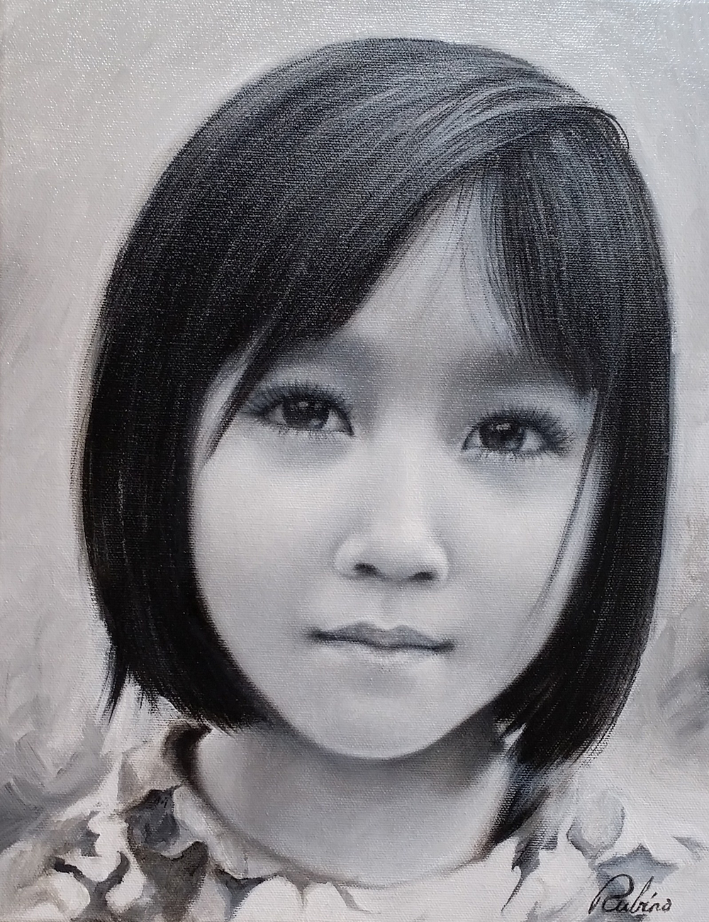 """Anh"", Dihn Collection, 15 x 20, oil"