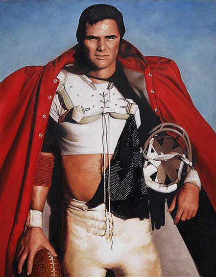 """Burt Reynolds"", Reynolds collection, 48 x 60, Oil"