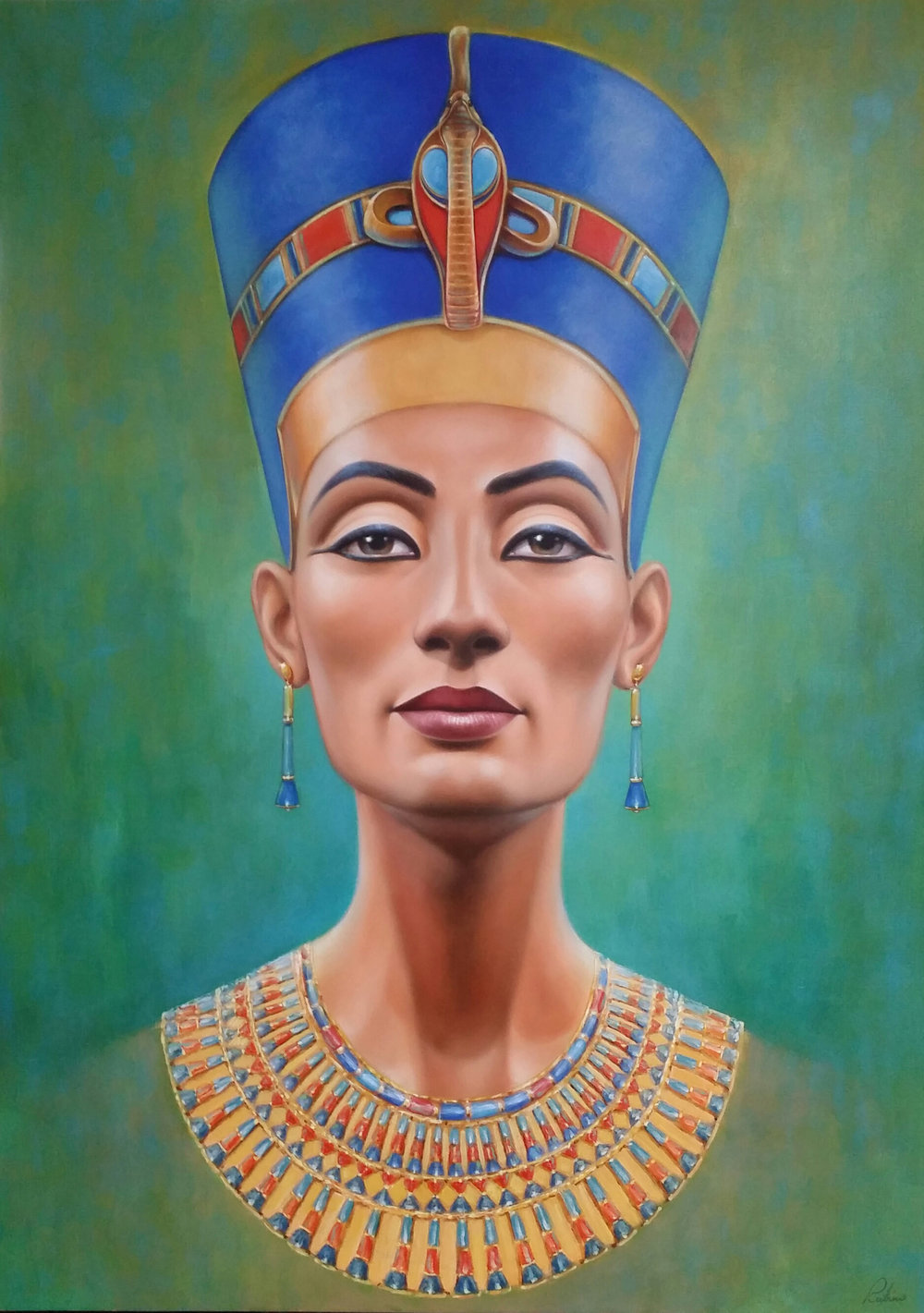 """Nefertiti"", 70 x 50, Oil"