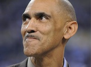 Tony Dungy believes trusting God requires practice.