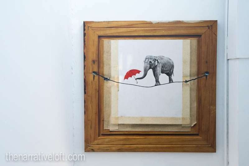 art life love happiness-fine art elephant santa barbara-thenarrativeloft