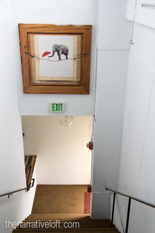love life happiness art elephant santa barbara art thenarrativeloft