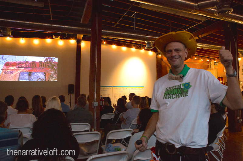 Stephen Ritz was all smiles during his engaging talk.