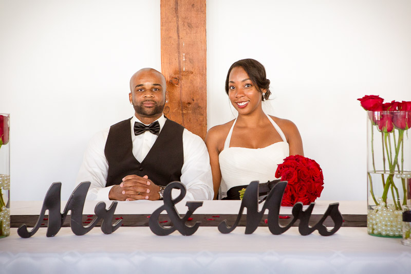 I present to you Mr. and Mrs. Jackson!