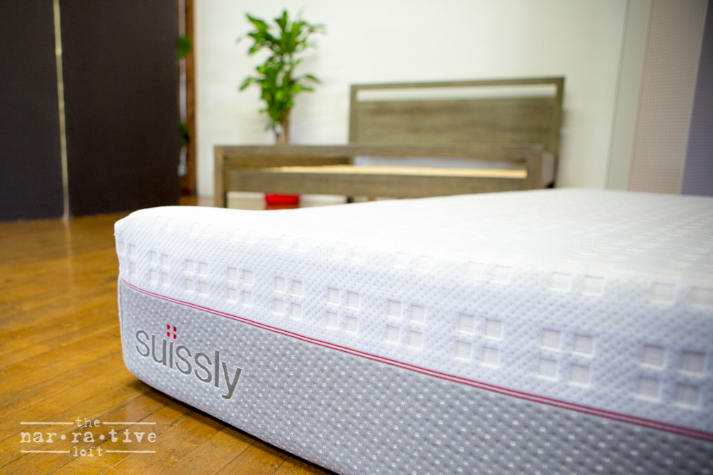 Sweet dreams on a Suissly mattress.