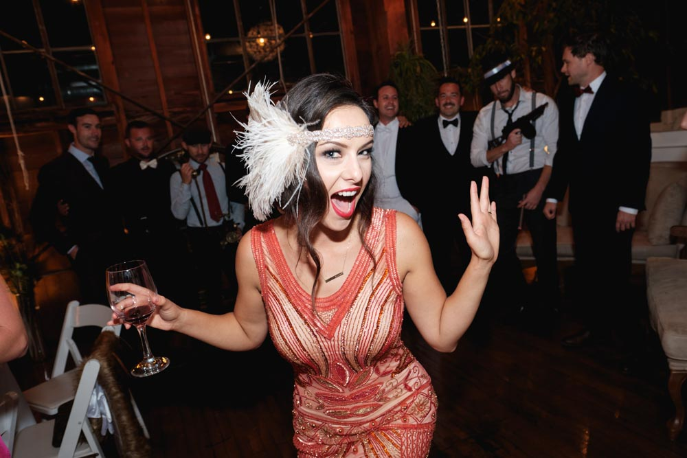 Photo credit: Cory Cullington - The finest flapper of the evening.