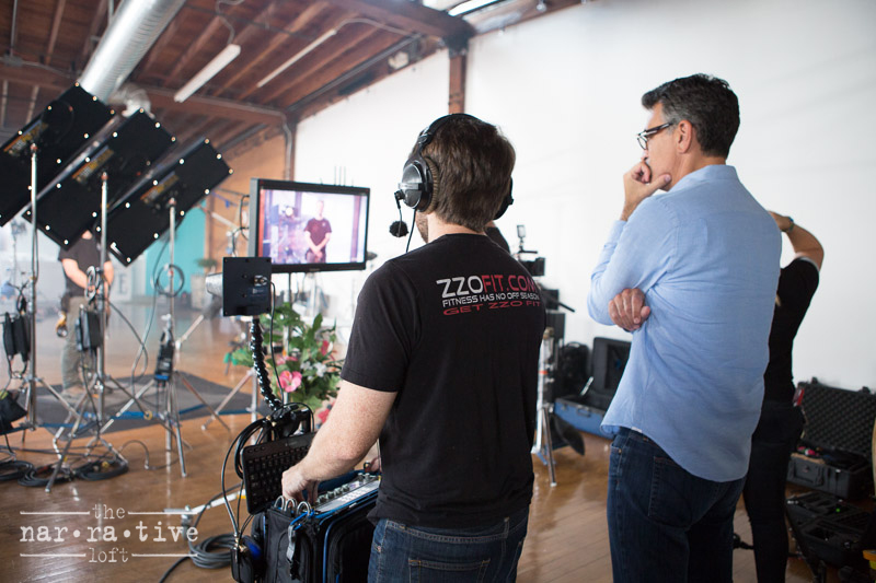 Founder and Creative Director Mark Ciglar ensuring the perfect shot!