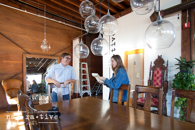 Jessica interviewing owner of Hed Hi Media, Tim McManus!