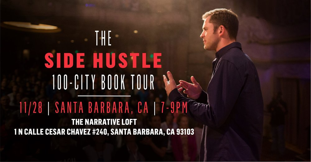 Side Hustle Book Tour