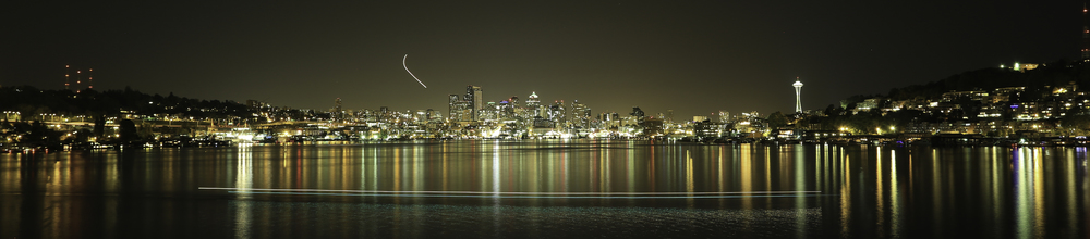 Skyline from Gasworks Park