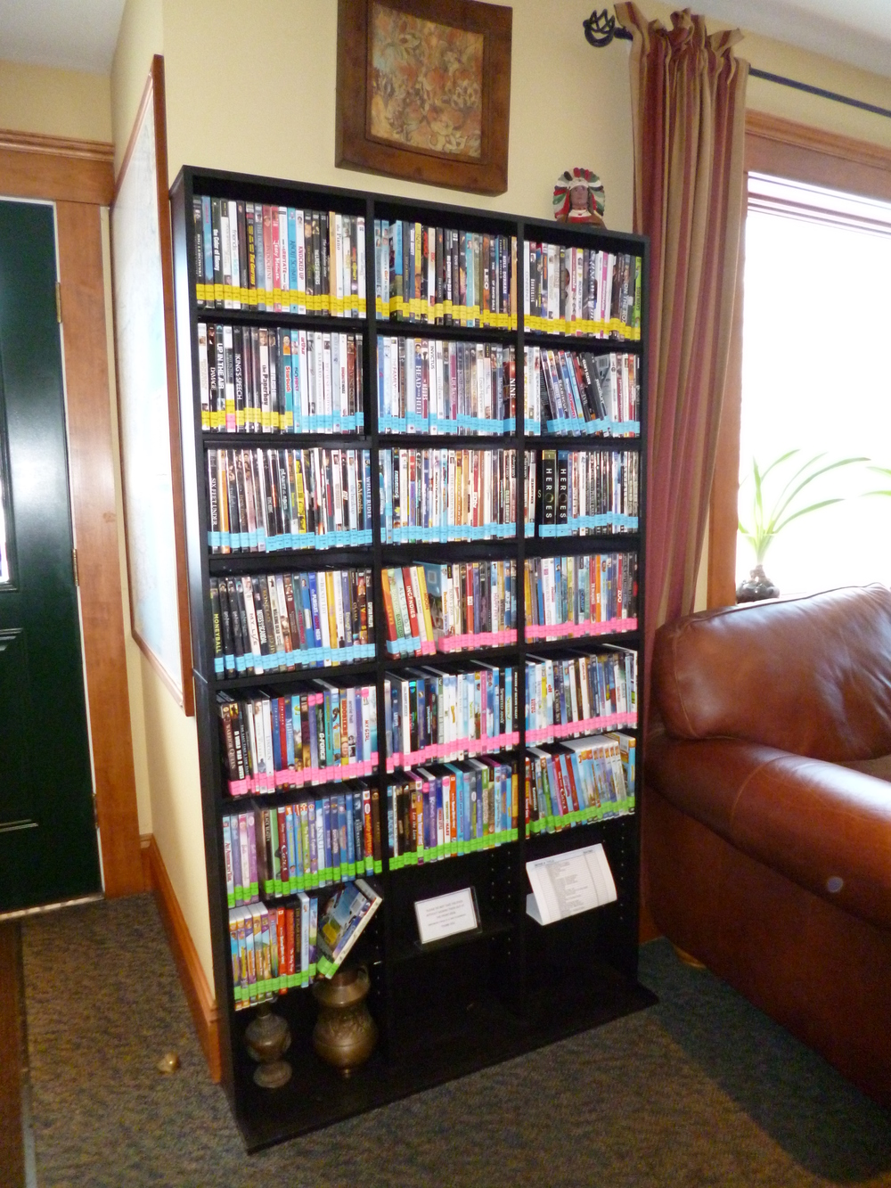 Stowe Motel dvd library
