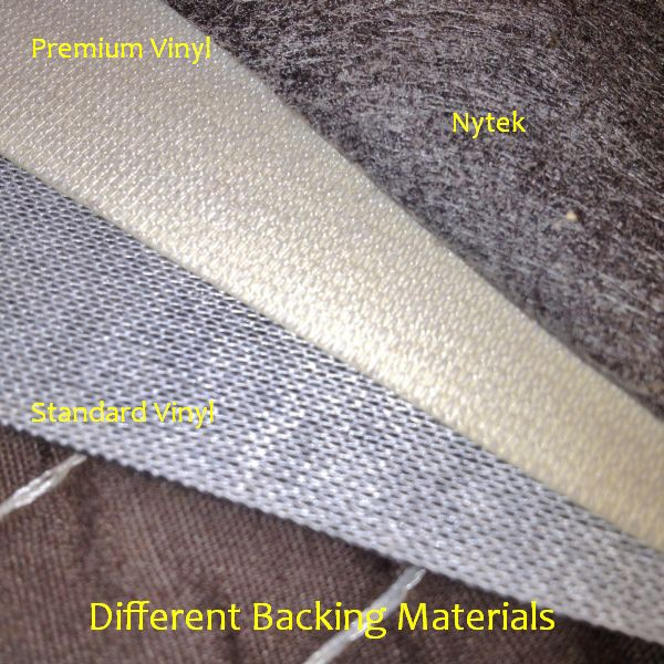 Vinyl backing fabric - Nytek backing fabric