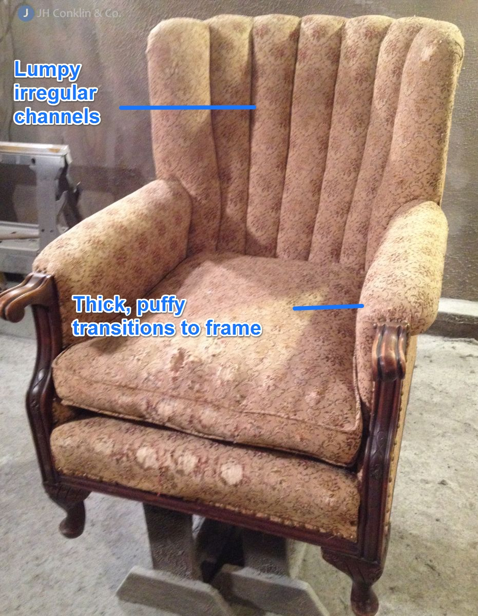 Re-covered Arm Chair Symptoms
