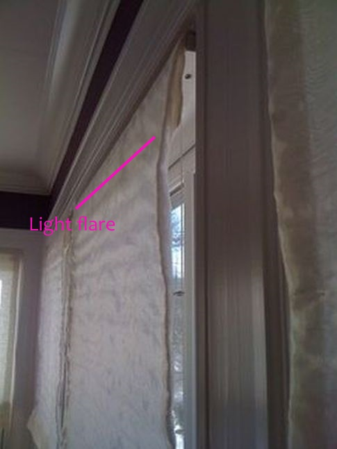 Flat Roman Shades Haddonfield NJ