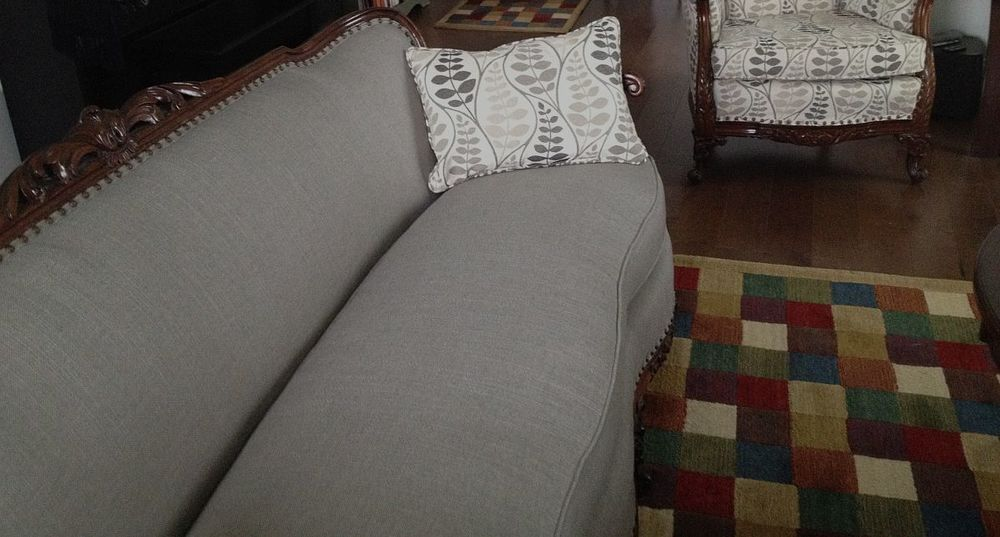 Washington Twp NJ couch after upholstery