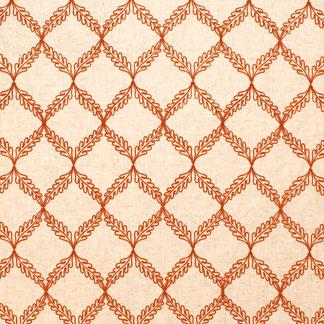 Carole Drifter Tangerine fabric.