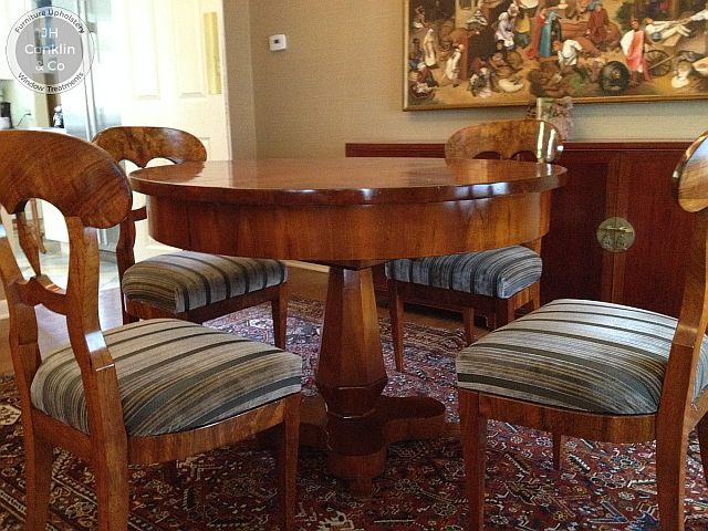Dining chair seats recovered in Eastampton, NJ