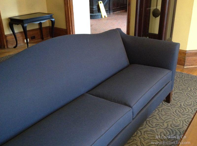 Dormitory Sofa Reupholstered