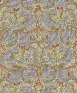 Barrow upholstery fabric pattern Descartes, color hyacinth