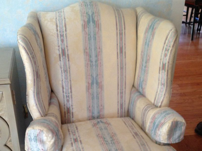 wing back chair before upholstery berlin nj