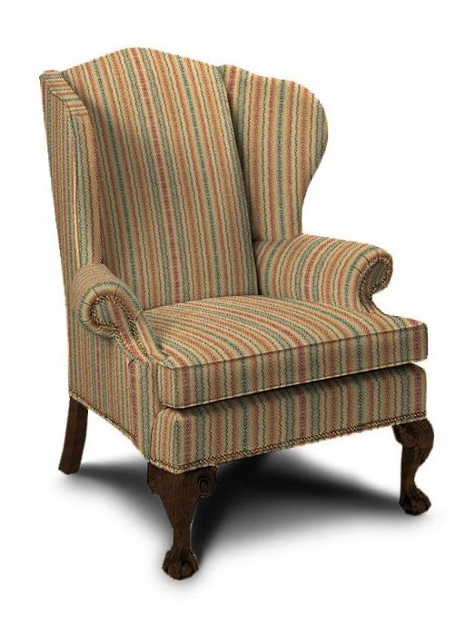Ethan Allen Giles wing chair