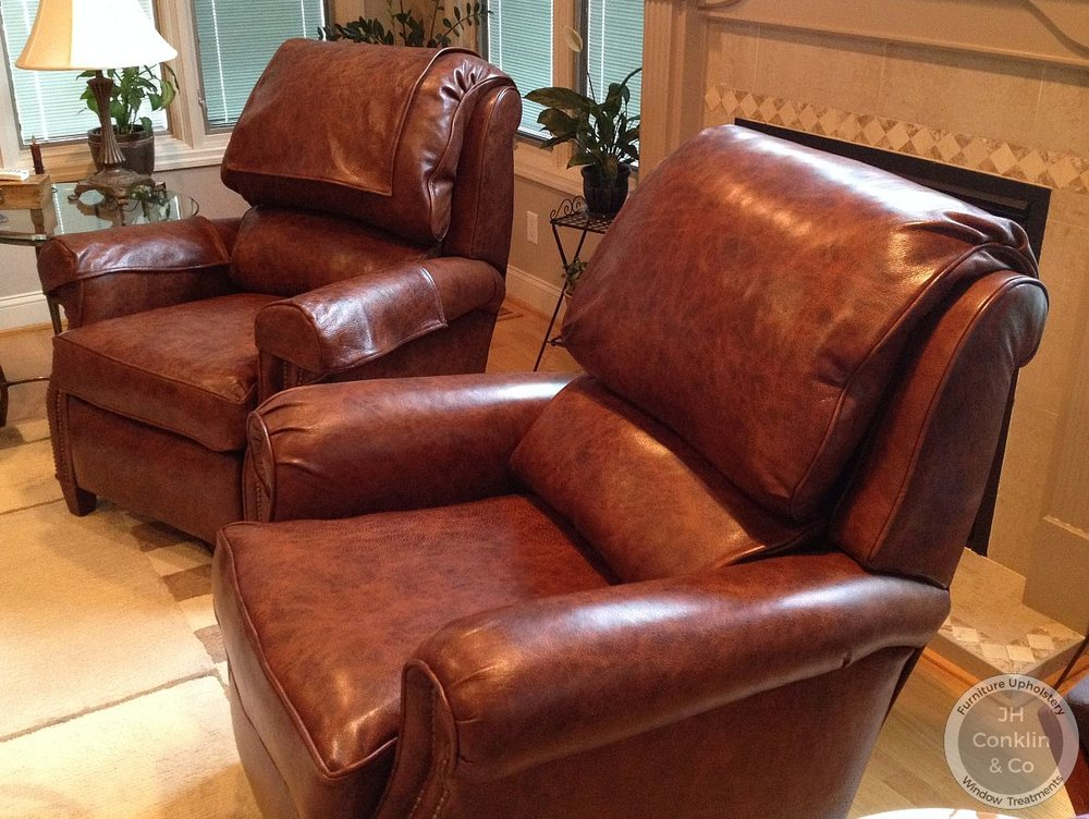 Leather Recliners - Vineland