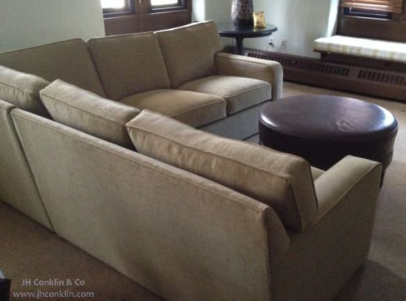 Smaller Sectional Reupholstery Cost