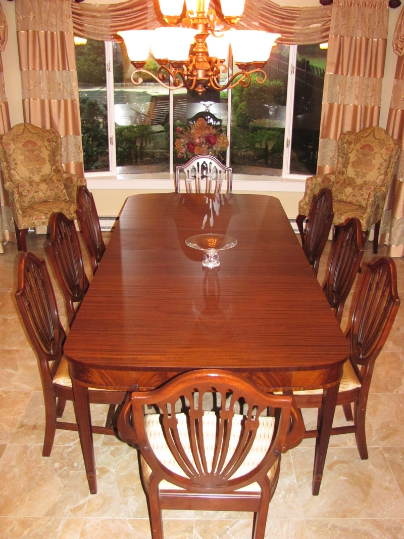 refinished dining set cherry hill nj
