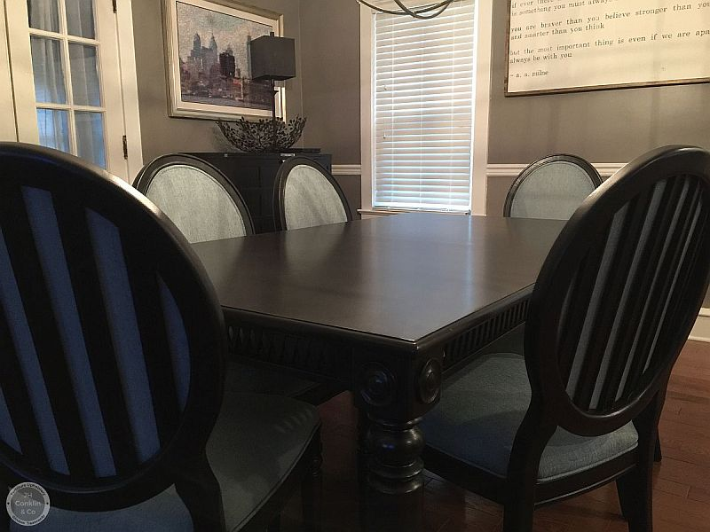 refinish dining set haddonfield nj