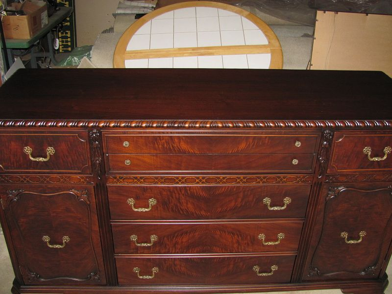 walnut dresser refinished vineland nj