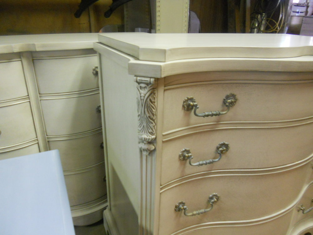 bedroom set painted refinish margate nj