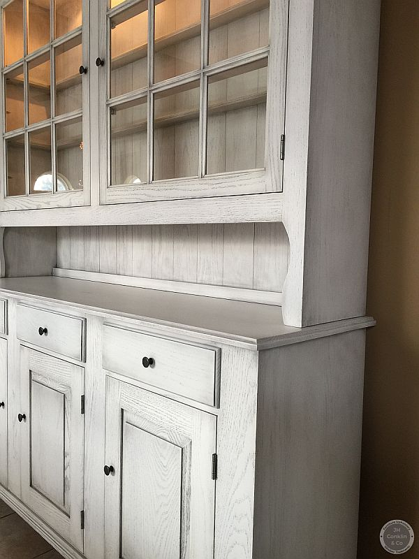 oak hutch refinished hainesport nj