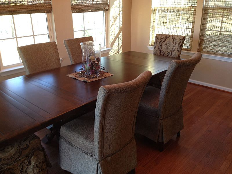 dining table refinished pedricktown nj