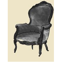 louis IV bergere chair