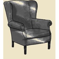 traditional Wing Chair