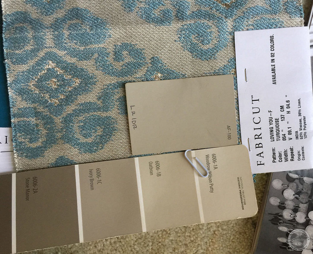 Deciding colors for the furniture finish