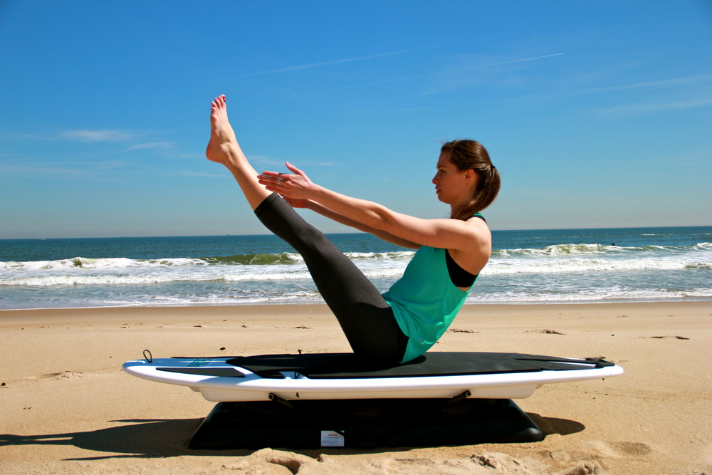 Alison Siderko,  SurfSET Tier 1 Instructor , on the Ripsurfer X