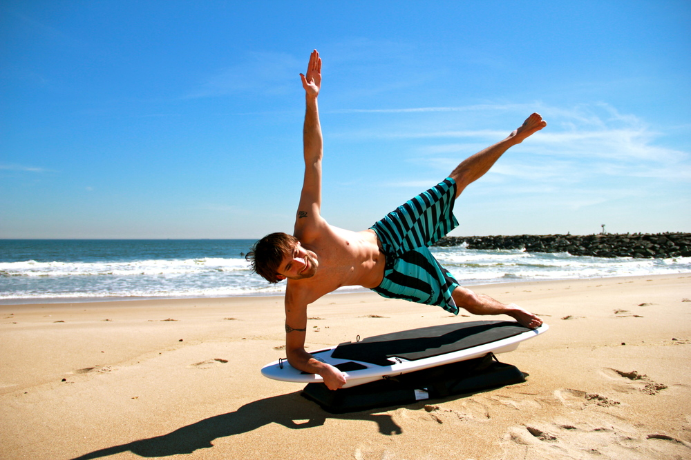 Fred Trauerts,  Owner of NJ Surf Fitness & SurfSET Tier 1 Instructor , on the Ripsurfer X