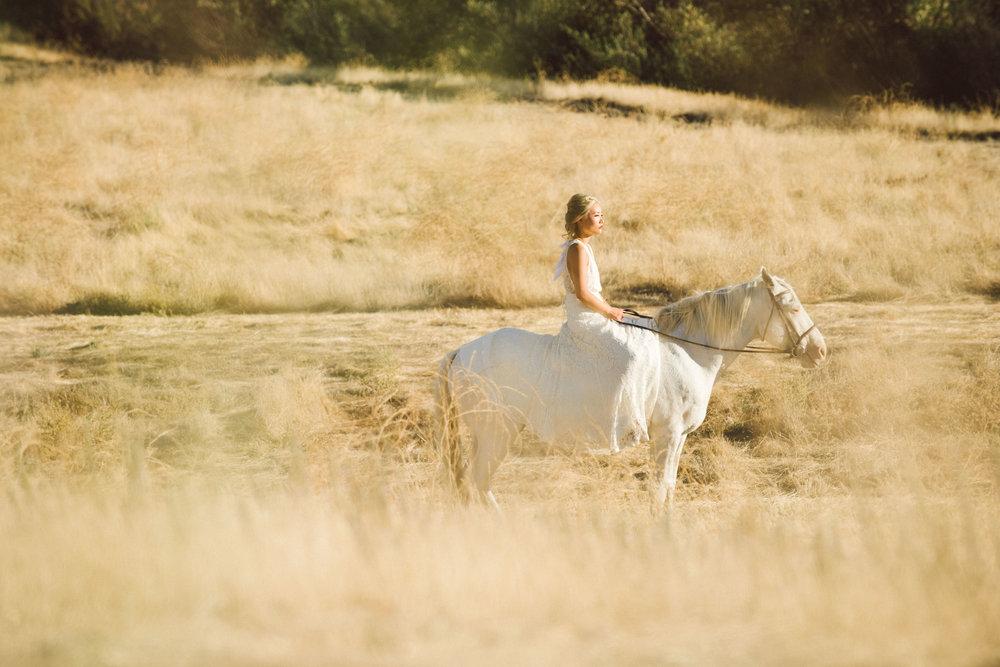 Horseback Wedding Ceremony