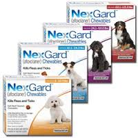 Have you tried our new product Nexgard? Its an oral form of flea and tick prevention!!! No more greasy oil on the back needed!!  Come on in and get one FREE beefy, chewable tablet for your dog to try!