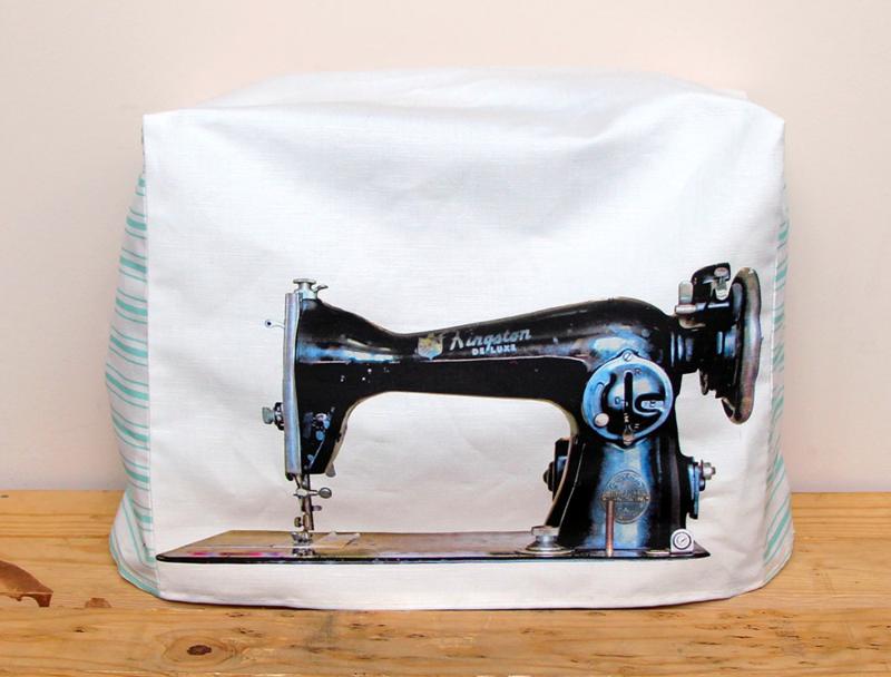 Custom Sewing Machine Cover — Allie Tate