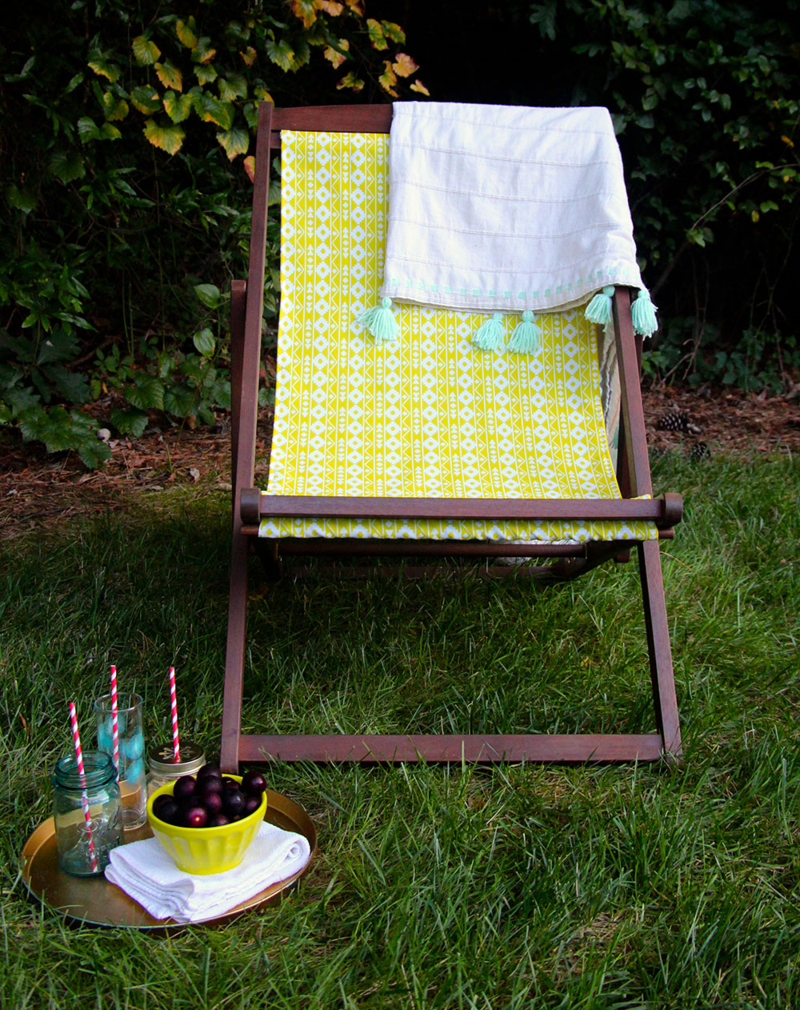 Diy Outdoor Chair Makeover Allie Tate