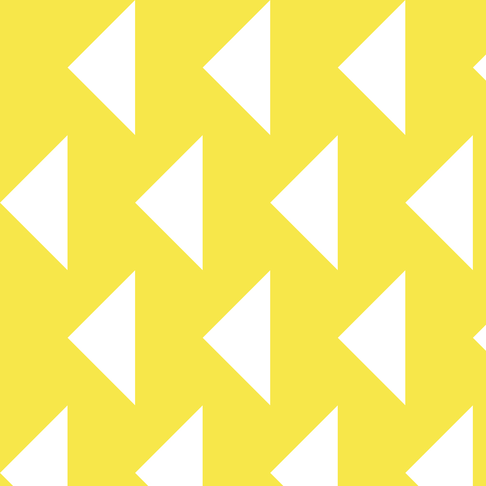 mustard triangles | surface design by Allie Tate