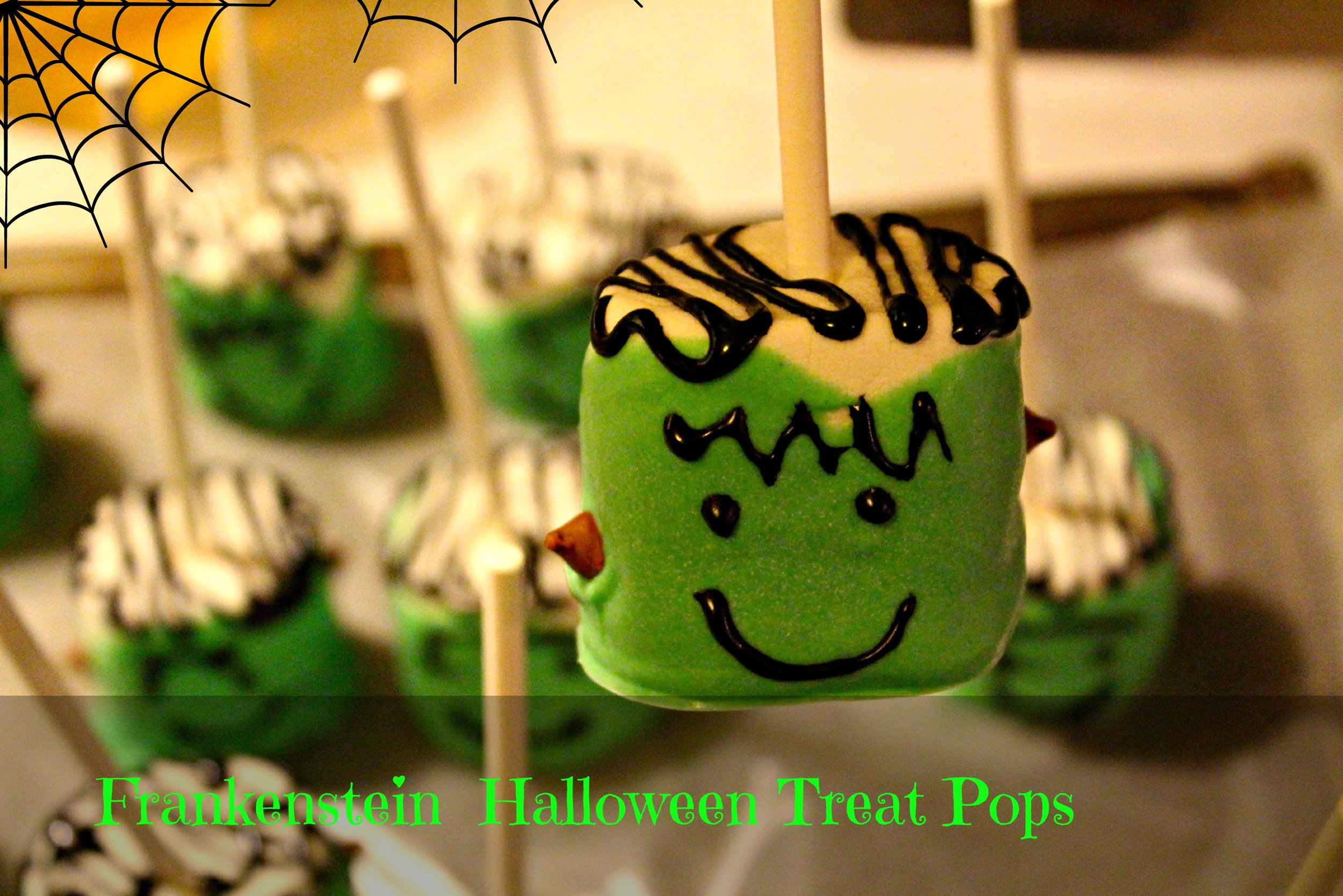 Frankenstein Pops
