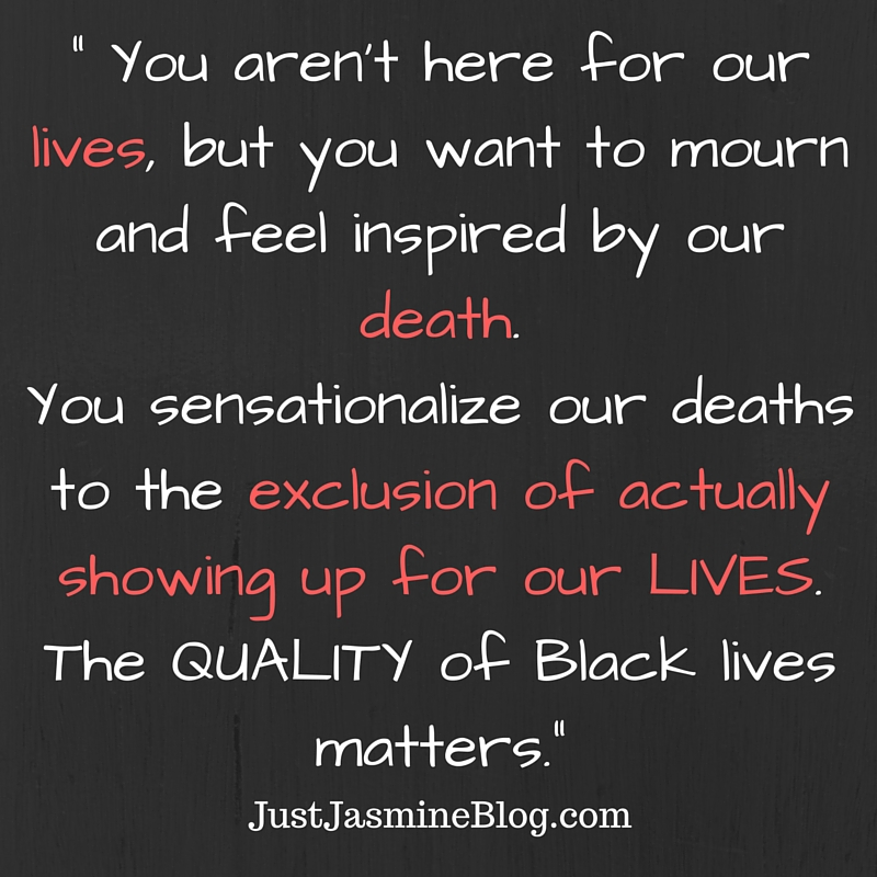 Quality of Black Lives
