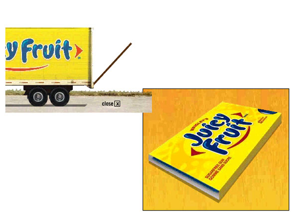 Juicy Fruit - Expandable Big Box - 2